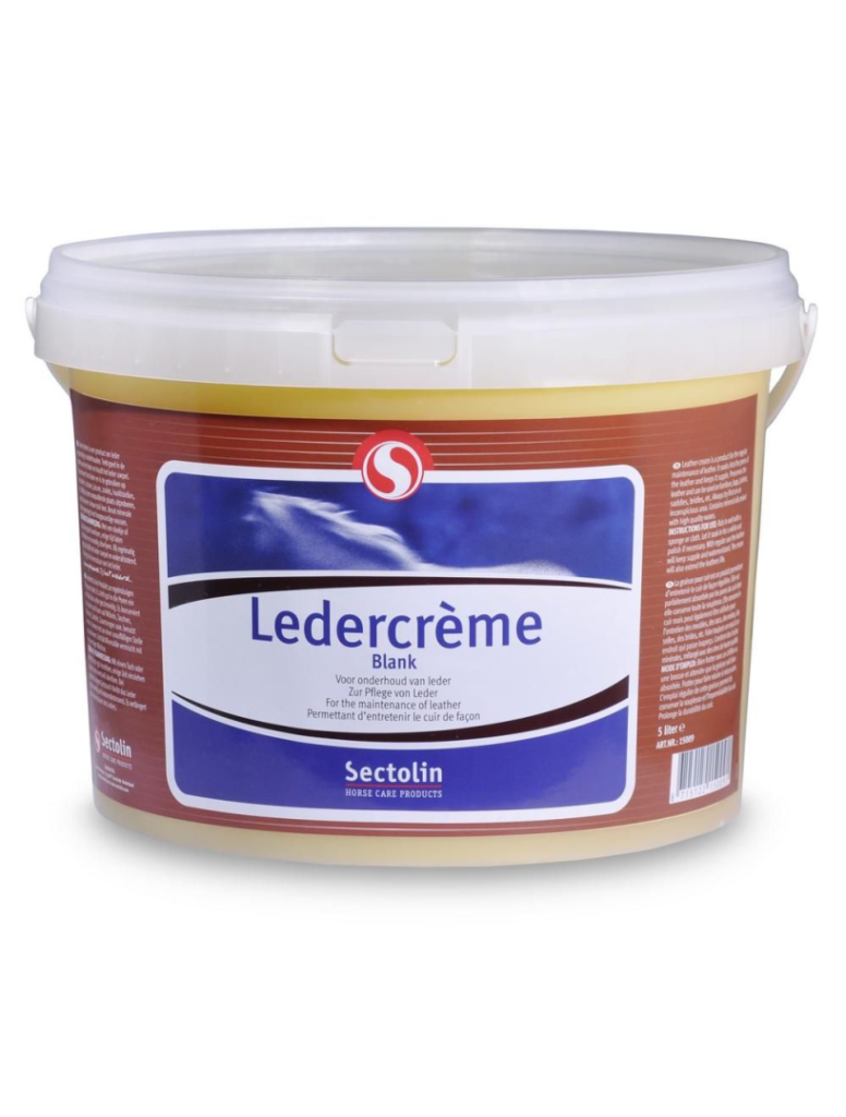 Ledercrème Blank