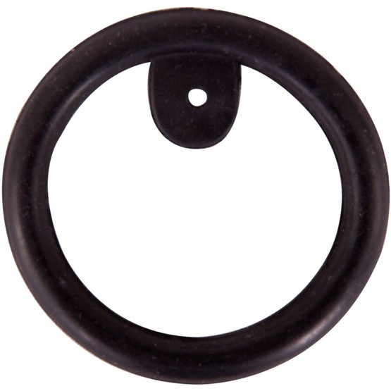 Ring rubber m/leertjes BR v/veiligheidsbeugels