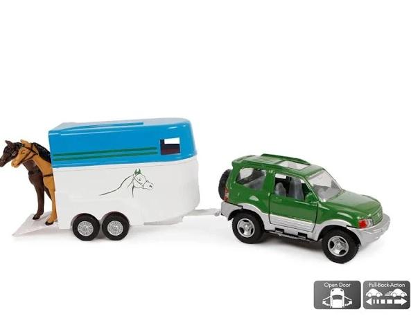 Kids's Globe Mitsubishi met paardentrailer