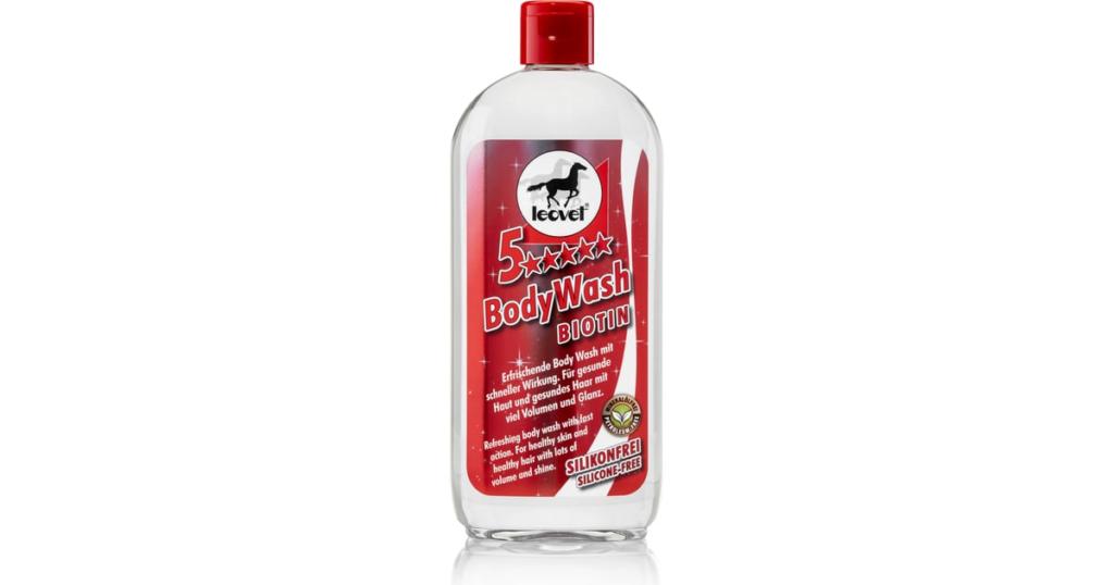 Leovet 5* bodywash biotin