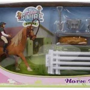 Kids's Globe Speelset paard en ruiter