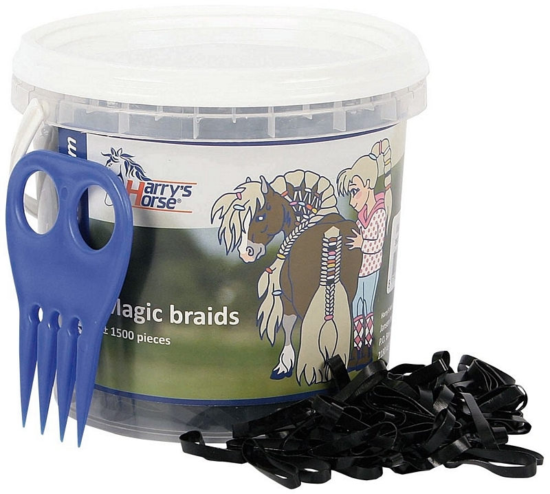 Magic braids, pot