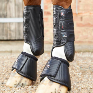 Carbon Tech Air Cooled Eventing Boots Front