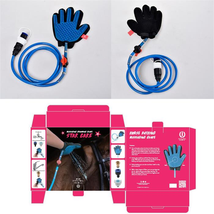 Imperial Riding bathing Massage Glove